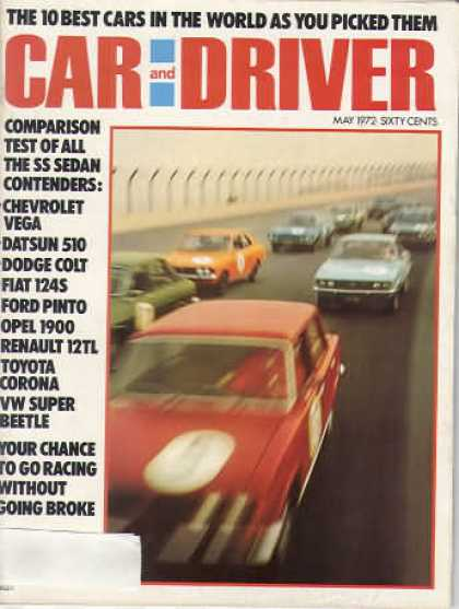 Car and Driver - May 1972