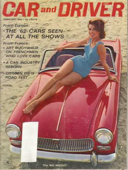 Car and Driver - February 1962