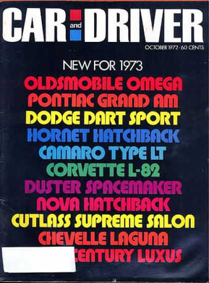Car and Driver - October 1972