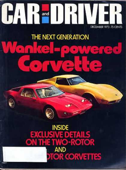Car and Driver - December 1973