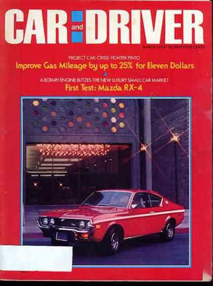 Car and Driver - March 1974