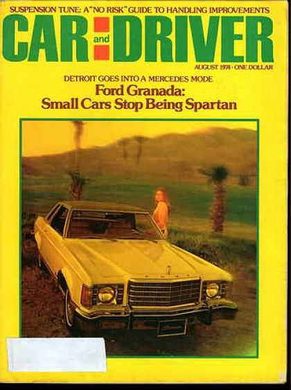 Car and Driver - August 1974