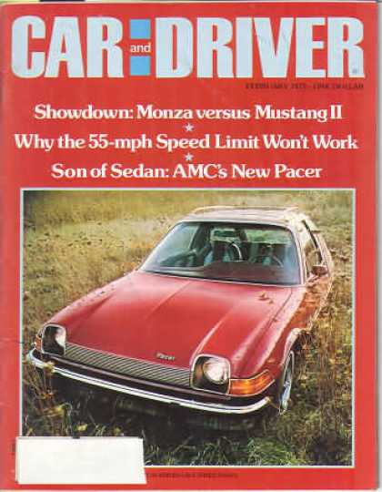 Car and Driver - February 1975
