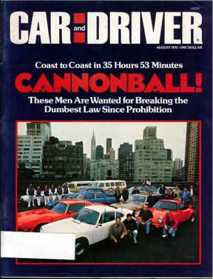 Car and Driver - August 1975