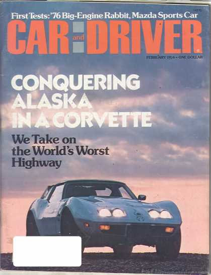 Car and Driver - February 1976