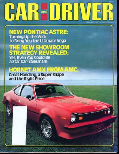 Car and Driver - February 1977
