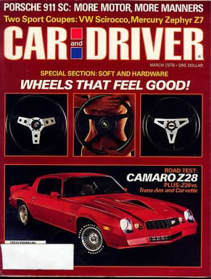 Car and Driver - March 1978
