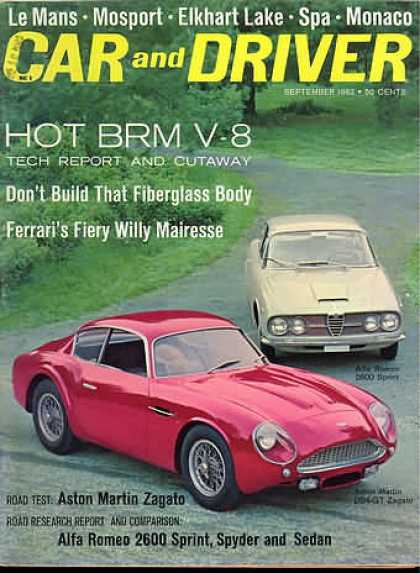 Car and Driver - September 1962