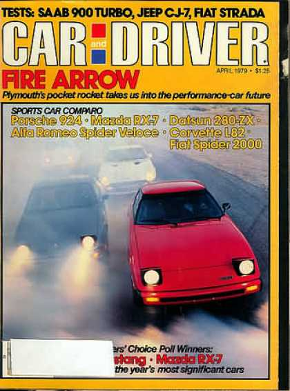 Car and Driver - April 1979