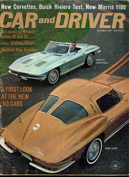 Car and Driver - October 1962