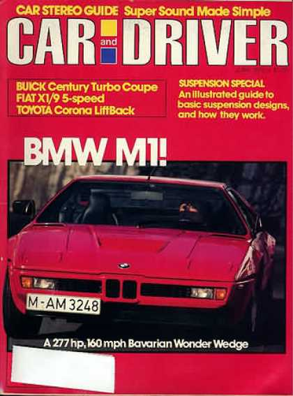 Car and Driver - June 1979