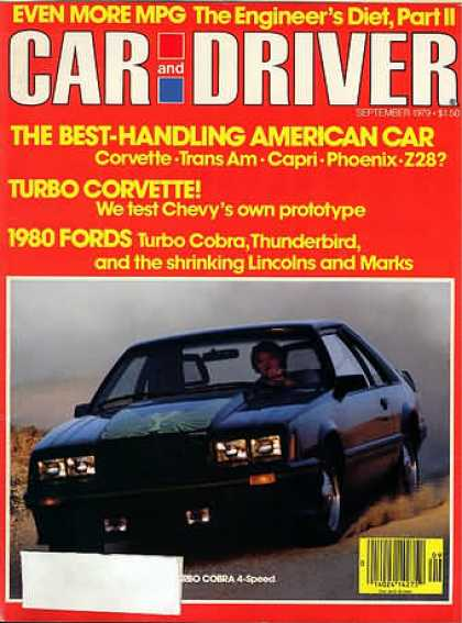 Car and Driver - September 1979