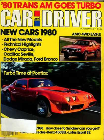 Car and Driver - October 1979