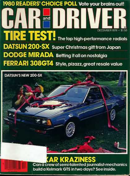 Car and Driver - December 1979
