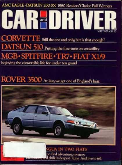 Car and Driver - May 1980