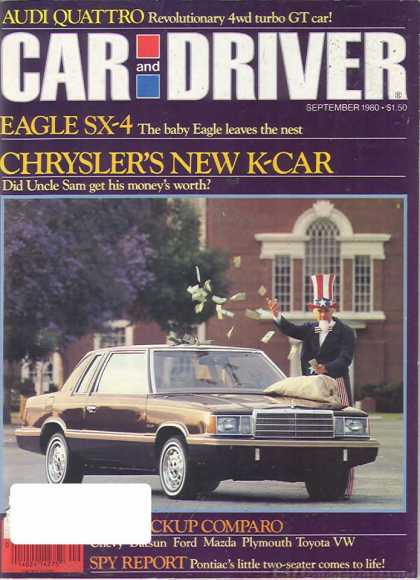 Car and Driver - September 1980