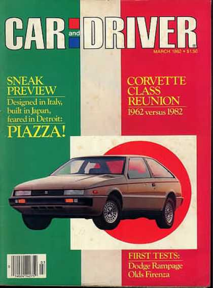 Car and Driver - March 1982