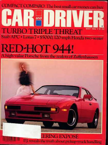 Car and Driver - May 1982