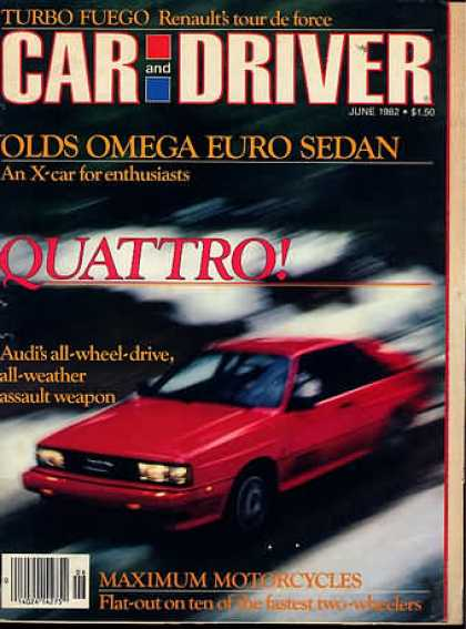Car and Driver - June 1982