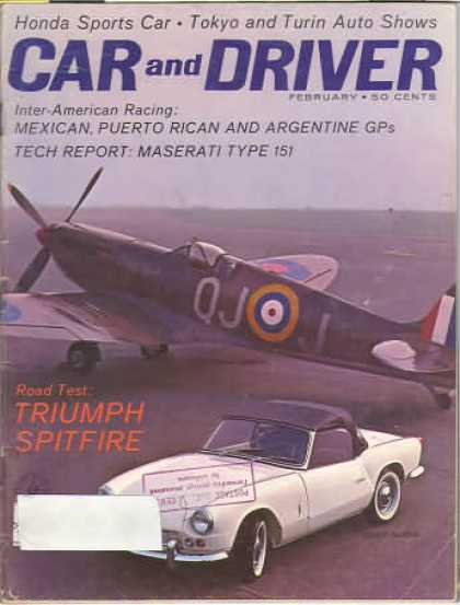 Car and Driver - February 1963