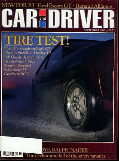Car and Driver - September 1982