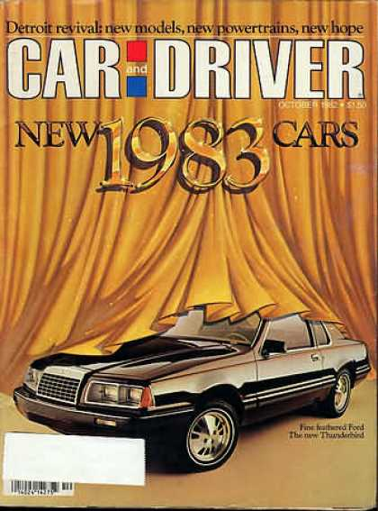 Car and Driver - October 1982
