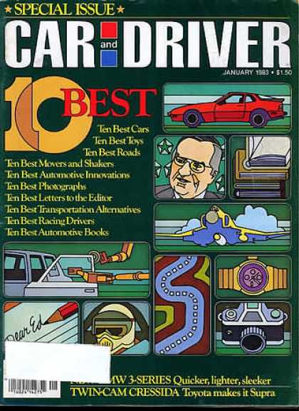Car and Driver - January 1983