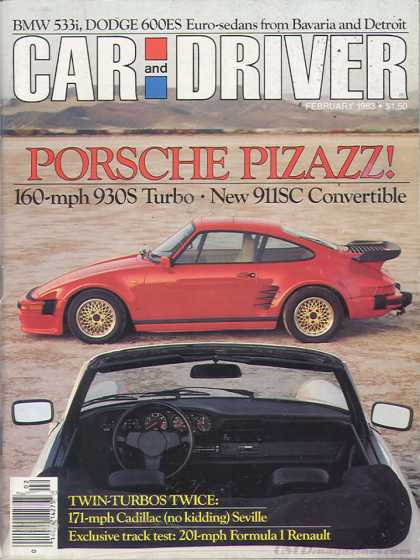 Car and Driver - February 1983