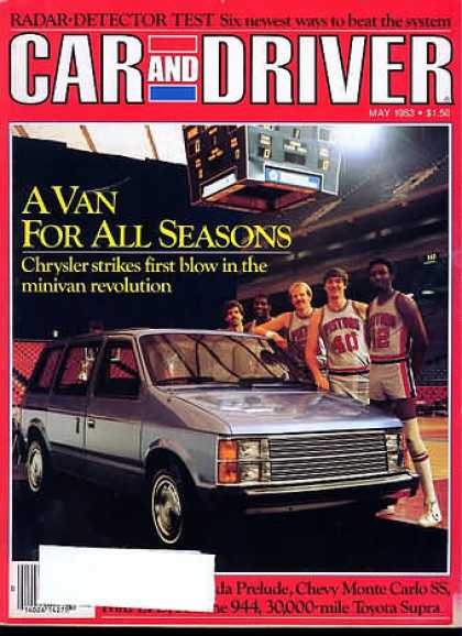 Car and Driver - May 1983