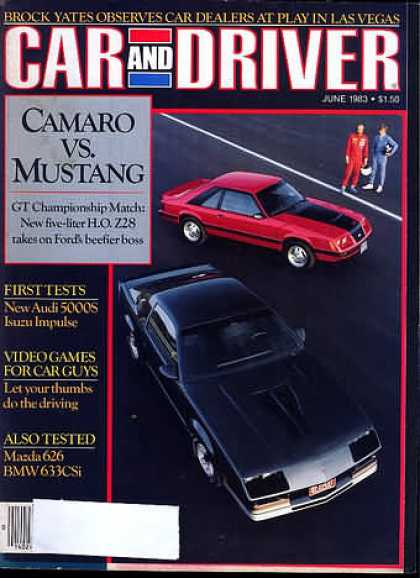 Car and Driver - June 1983