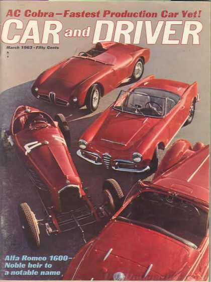 Car and Driver - March 1963