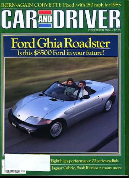 Car and Driver - December 1984