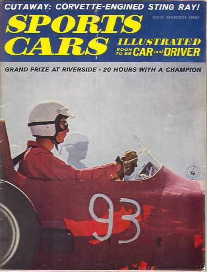 Car and Driver - March 1961
