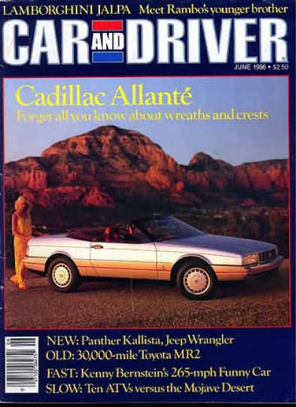 Car and Driver - June 1986