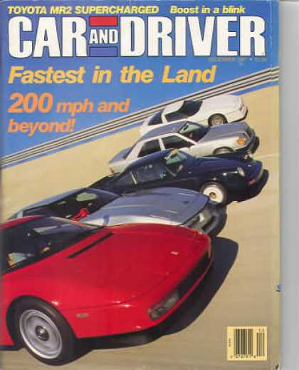 Car and Driver - December 1987