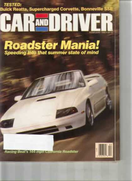 Car and Driver - February 1988
