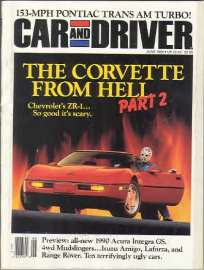 Car and Driver - June 1989