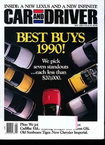 Car and Driver - May 1990