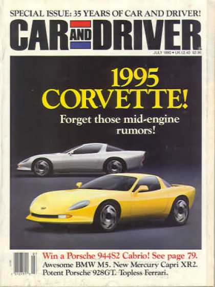 Car and Driver - July 1990