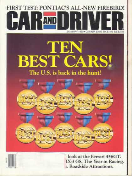 Car and Driver - January 1993
