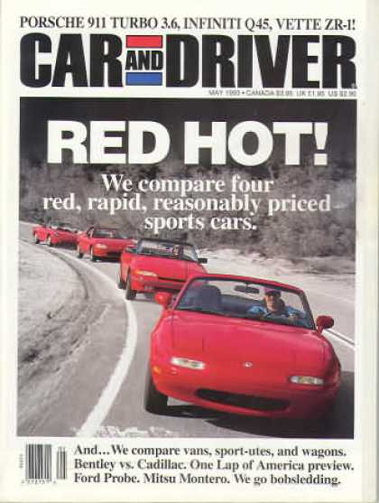 Car and Driver - May 1993