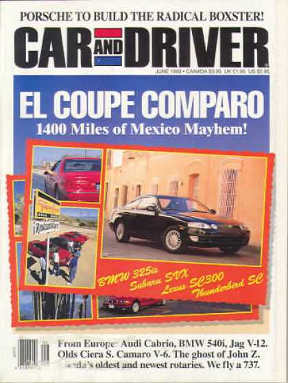 Car and Driver - June 1993