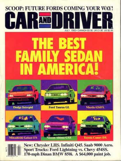 Car and Driver - July 1993