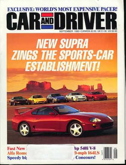Car and Driver - September 1993