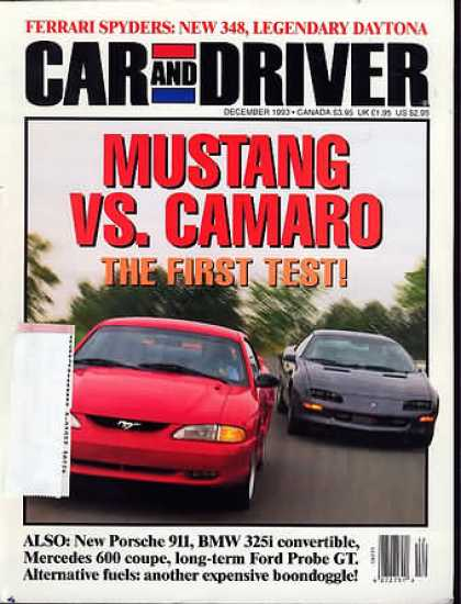 Car and Driver - December 1993