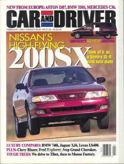 Car and Driver - February 1995