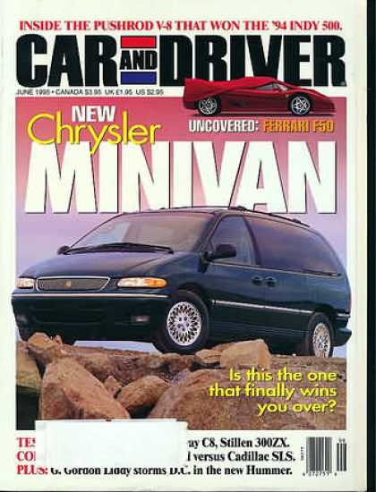 Car and Driver - June 1995