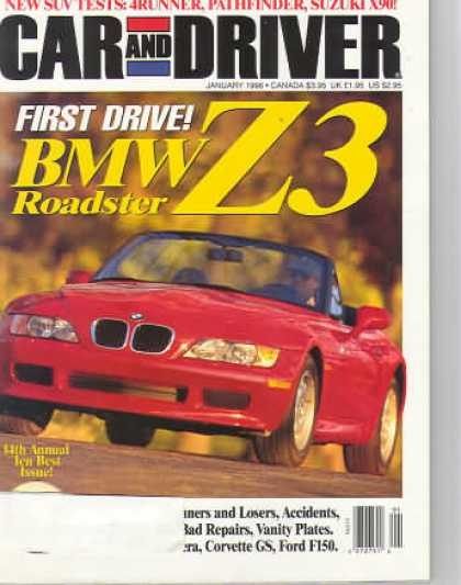 Car and Driver - January 1996