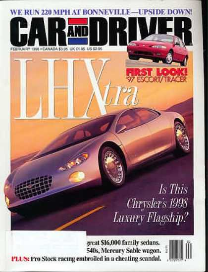 Car and Driver - February 1996