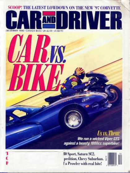 Car and Driver - December 1996